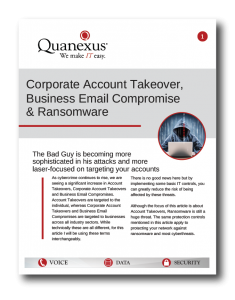 Quanexus IT Services Whitepaper