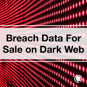 Breach Data For Sale