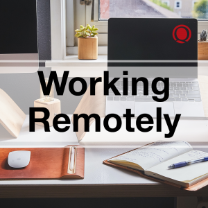 Working Remotely Desk
